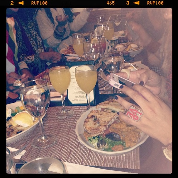 brunch, NYC, unlimited, unlimited mimosa's, Philip Marie