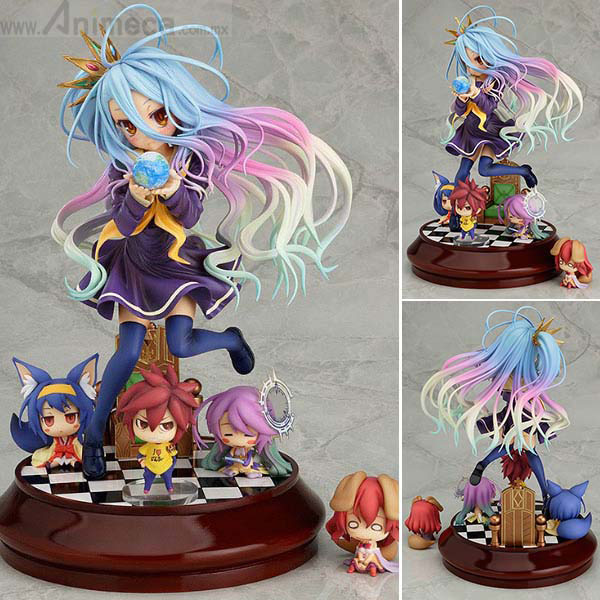 FIGURA SHIRO No Game No Life