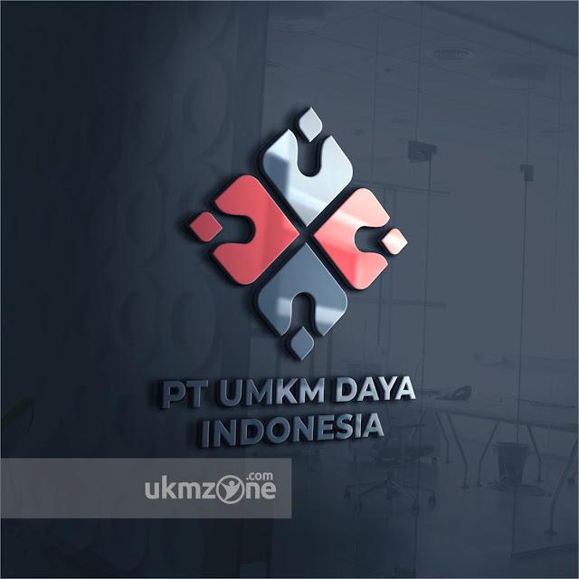 Desain logo untuk PT UMKM Daya Indonesia - Jasa Desain dan Branding UKM ZONE