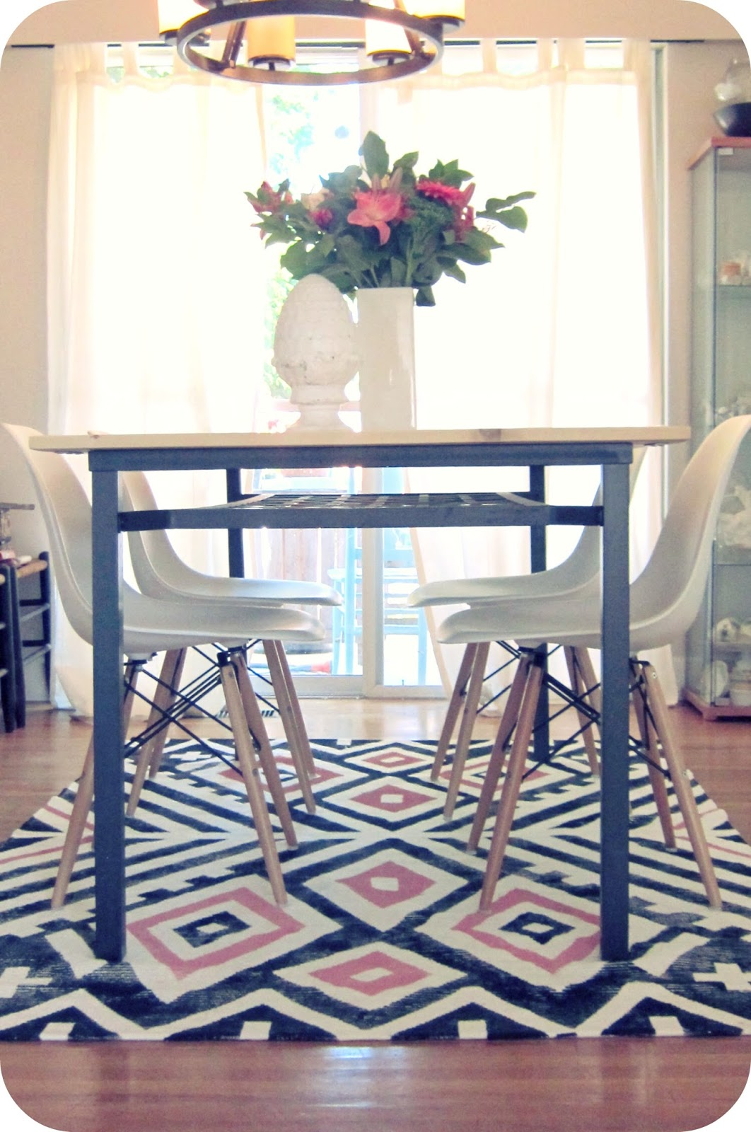 My House of Giggles: Living Room Refresh (a DIY Kilim ...