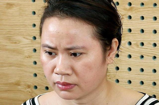 Nguyễn Thị Tình tại cơ quan điều tra.