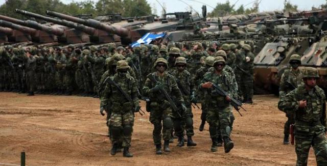 Στην τρίτη θέση της ΕΕ η χώρα μας στους ετοιμοπόλεμους στρατούς!