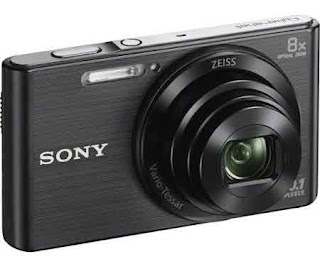 Sony Cyber-shot DSC-W830 Digitalkamera - 720p - 20,1 MP - Silber