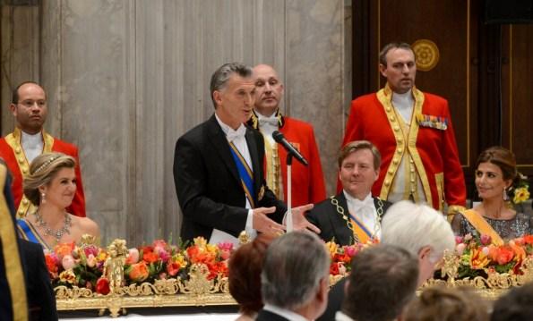King Willem-Alexander Thanks Argentina