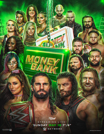WWE Money in the Bank 2019 HDRip 720p 2GB