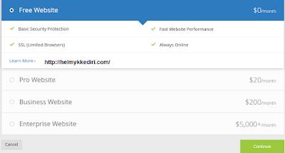 Cara Pasang SSL pada Domain diblogger2
