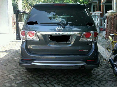 Body Kit Grand Fortuner TRD Thailand