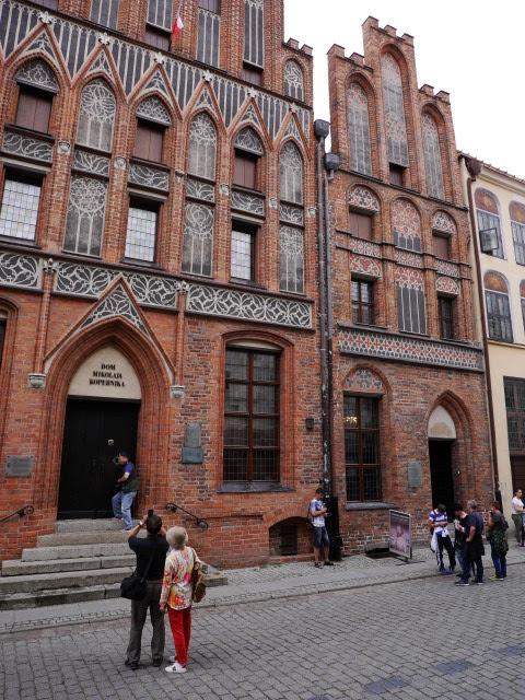 Huis van Copernicus in Torun, Polen