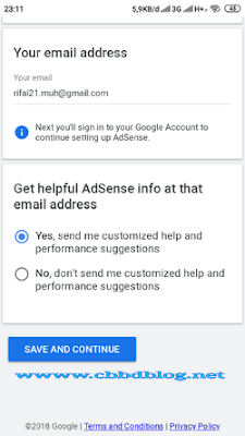 cara membuat google adsense lewat hp android