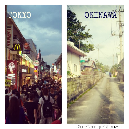 Tokyo and Okinawa