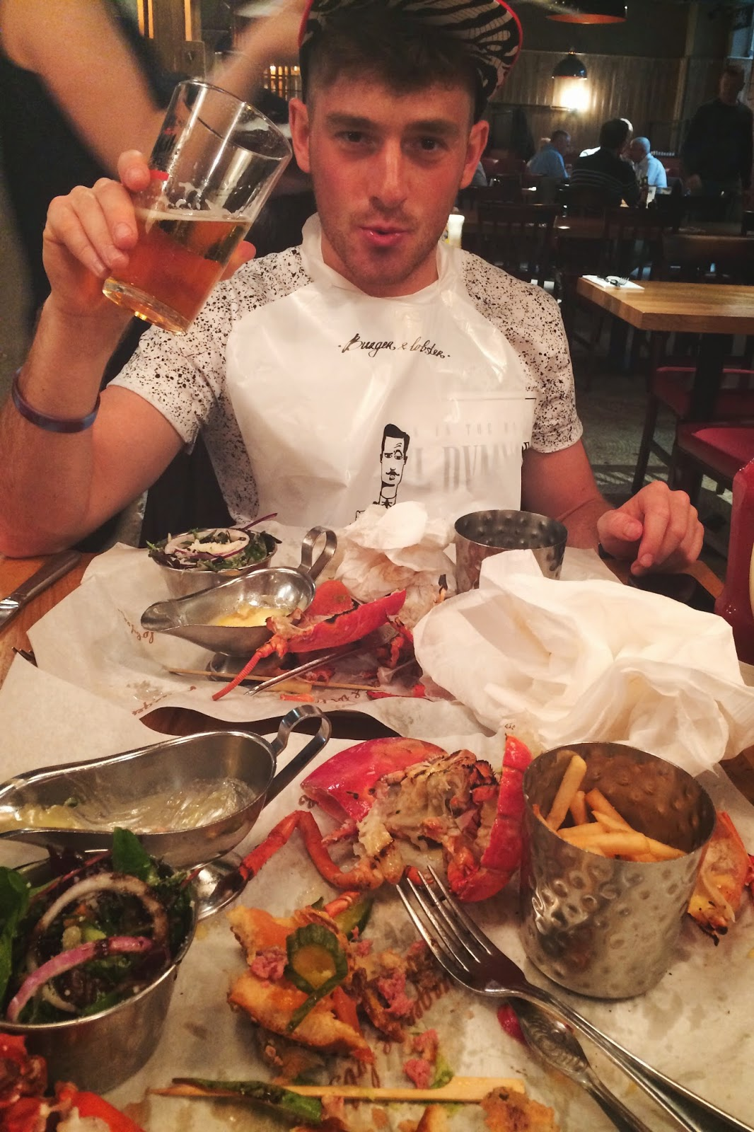 Burger and Lobster review, London
