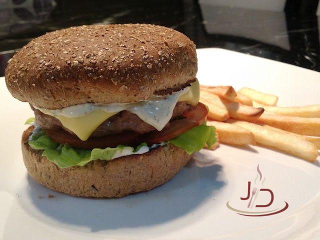 foto do hamburguer