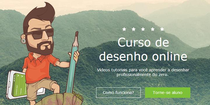 Qualquer um pode desenhar - Curso de desenho online