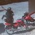 Bandidos abandonam moto tomada de assalto em Reriutaba durante fuga após assalto a uma loja em Varjota