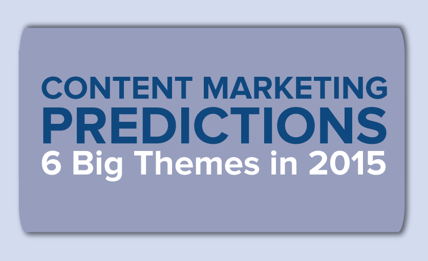Content Marketing Predictions: 6 Big Themes for 2015 [Infographic]