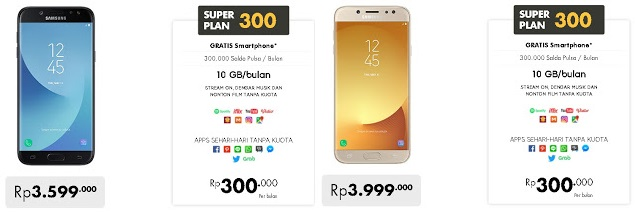 Super Plan 300 Gratis Samsung Galaxy J Pro