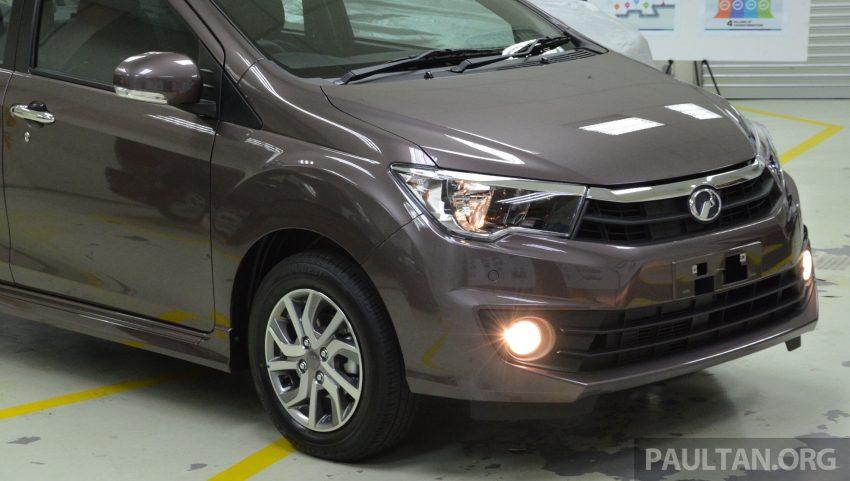 Gambar serta Spesifikasi Perodua Bezza 2016