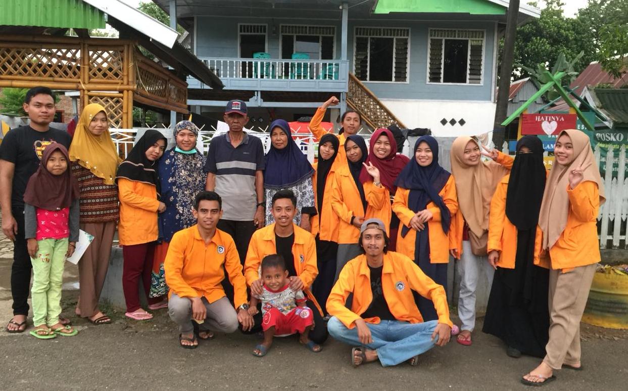 Sebelum Susun Program, Mahasiswa KKN UNM Kenali Kebiasaan Masyarakat Desa Bara Batu