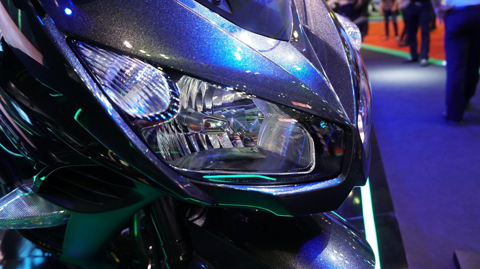 Cận cảnh siêu xe Kawasaki 1000 ABS tại VMS 2016