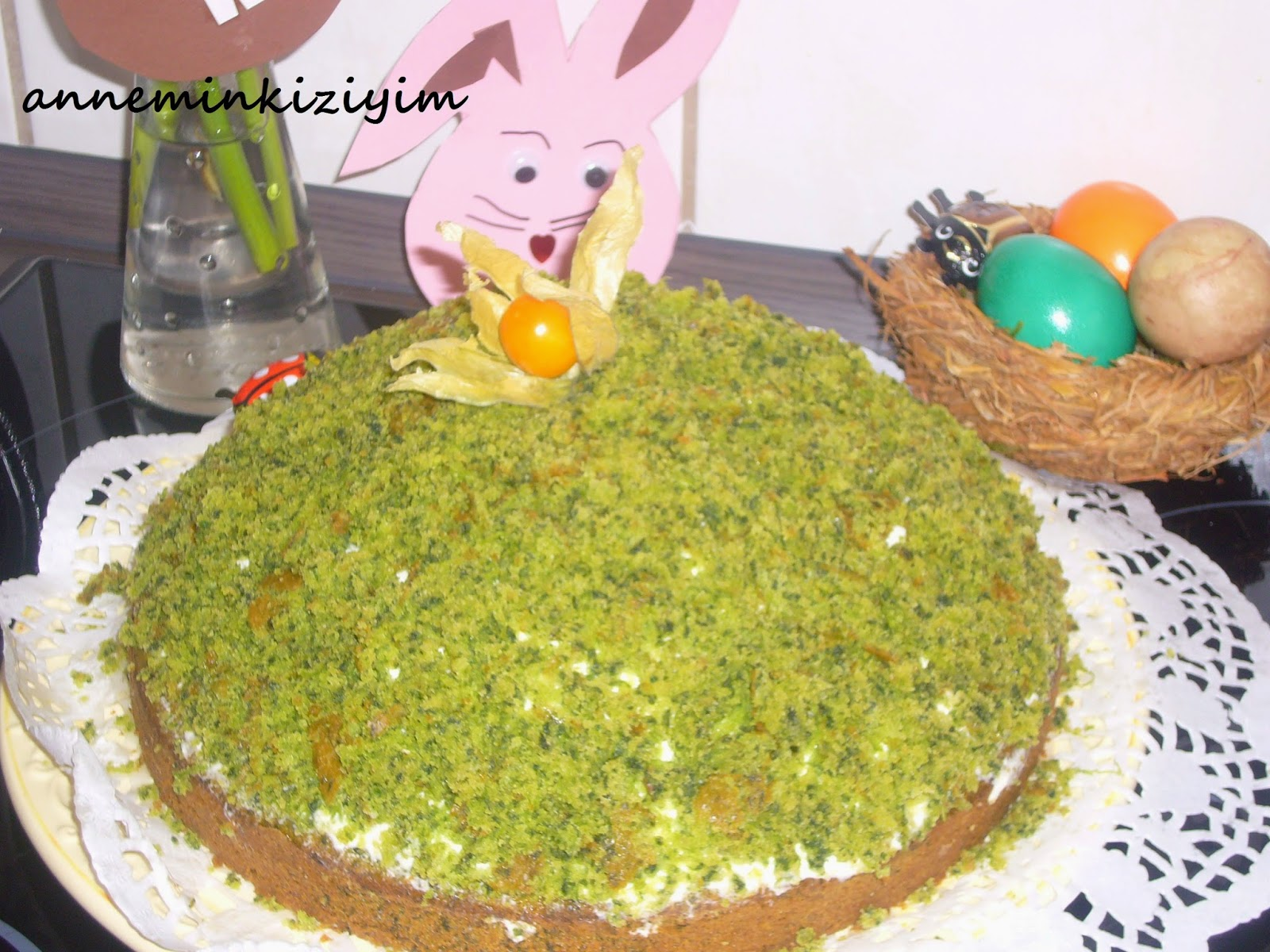 Ispanaklı köstebek pasta