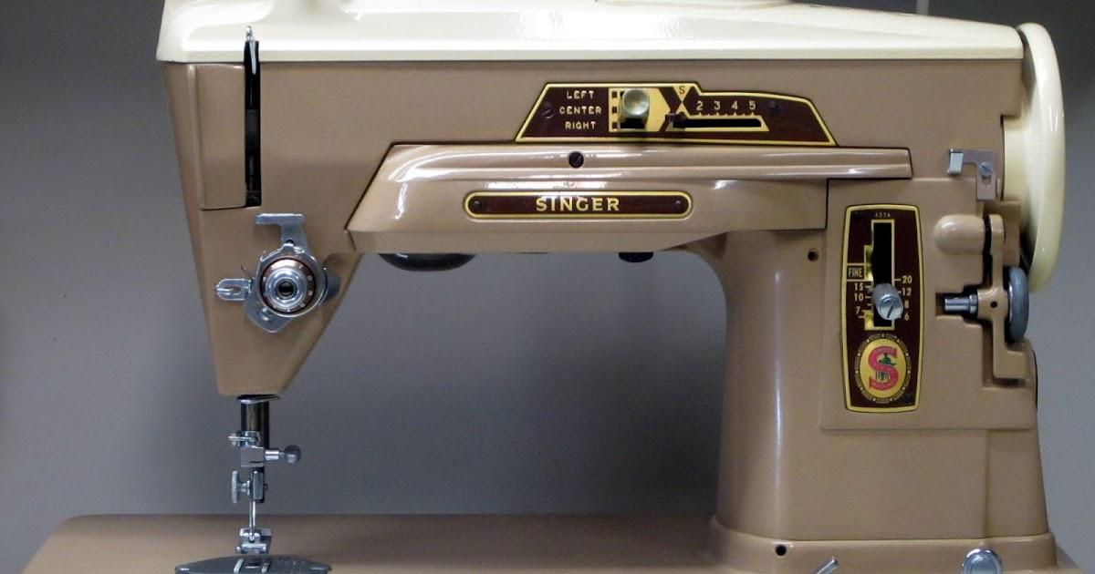 1958 singer sewing machine
