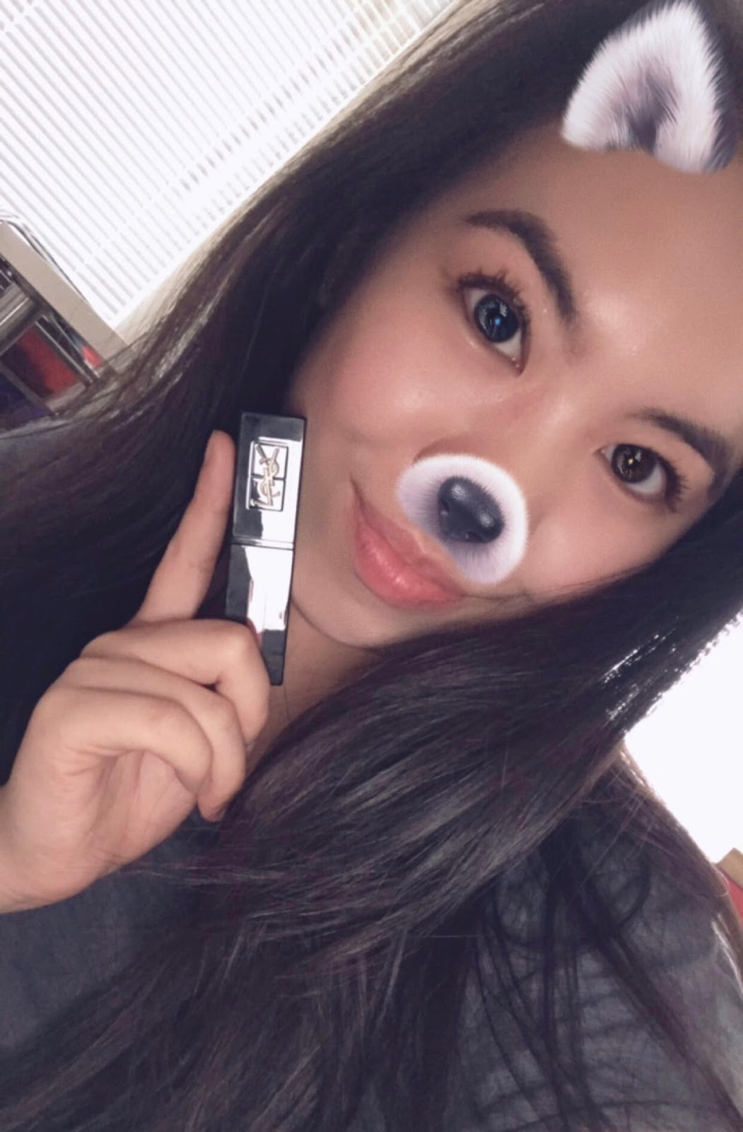 Ysl Vinyl Cream Lip Stain 407 Carmin Session Melissaawongg