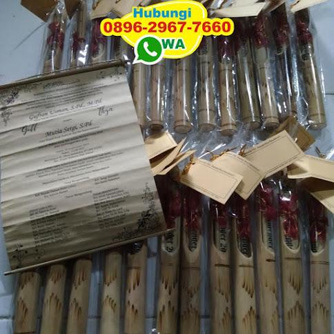 distributor Undangan bambu reseller 50318