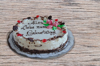 German birthday cake