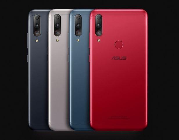 warna Asus Zenfone Max Shot dan Zenfone Max Plus M2