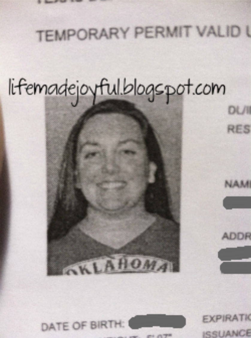 texas temporary drivers license template - texas temporary drivers license template car interior design