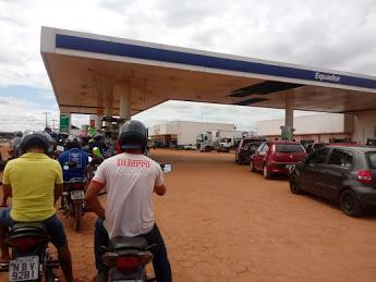 Começa a faltar combustível Guajará-Mirim