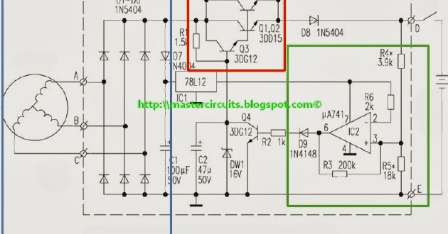 3 Phase Lighting Wiring Diagram 3 Phase Voltage Regulator Series Type Techy At Day