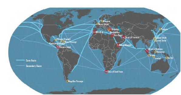 Indonesia dilalui jalur pelayaran Internasional