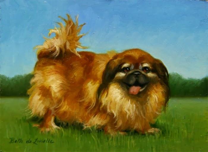 Портреты животных и цветочные картины. Beth de Loiselle