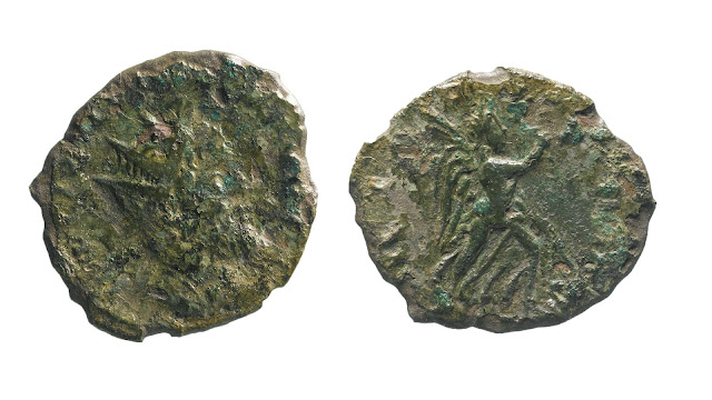 Rare Roman coin found during A14 roadworks in England