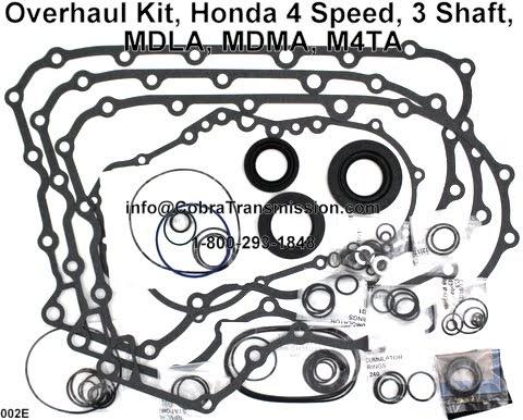 Cobra Transmission Parts 1-800-293-1848: Honda M4TA, MDLA