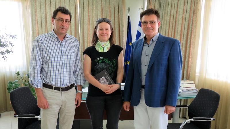 Συνάντηση Αντιπεριφερειάρχη Έβρου με εκπρόσωπο του ECDC για τα κουνούπια
