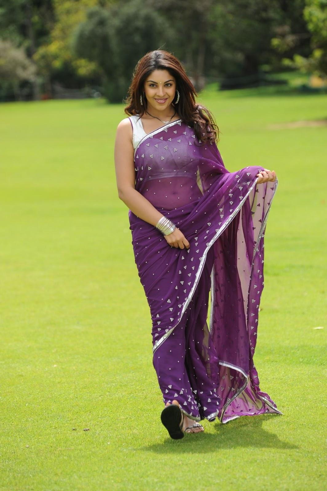 glorious Richa gangopadhyay in saree hot stills