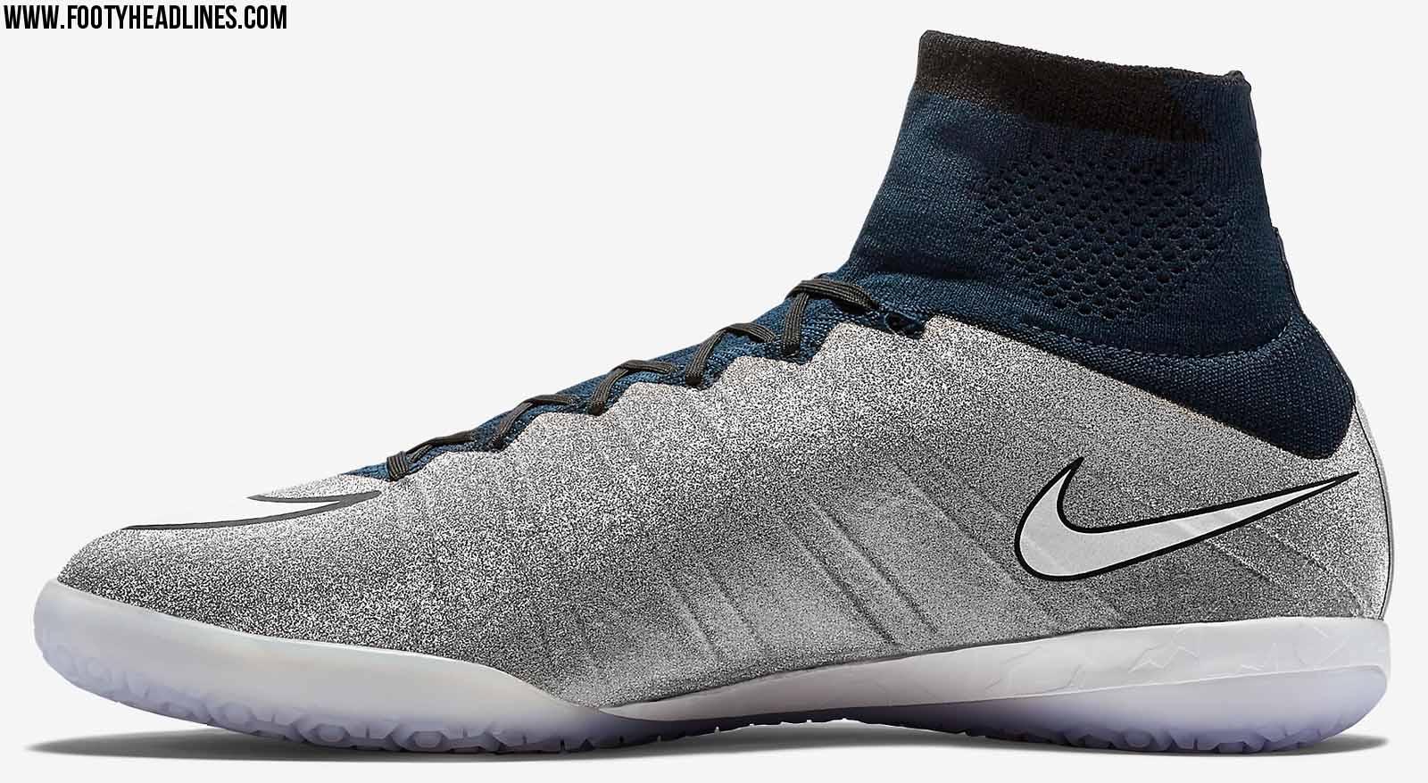 Silberne Nike Mercurial X Proximo SE CR7 Silverware