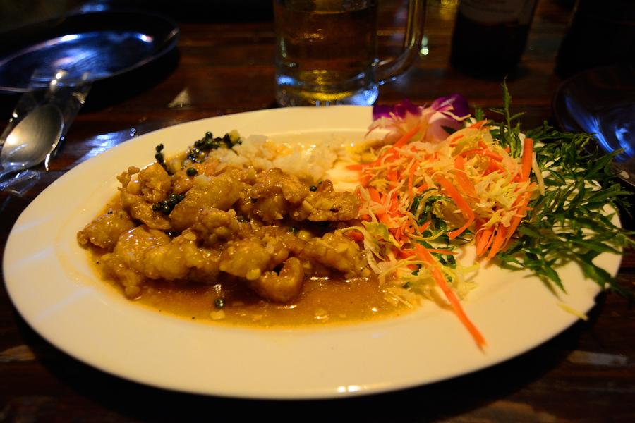 danie z krokodyla tajlandia