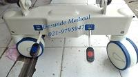 Roda ABS dan Rem Emergency Bed YQC-2R