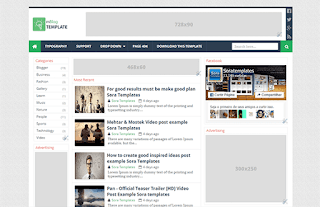 mBlog Blogger Template