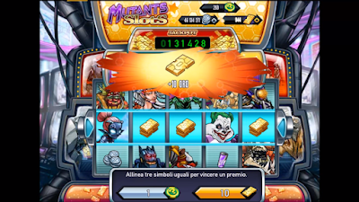 "Mutants: Genetic Gladiator ""Mutants Slots Event"" 13 May 2016"