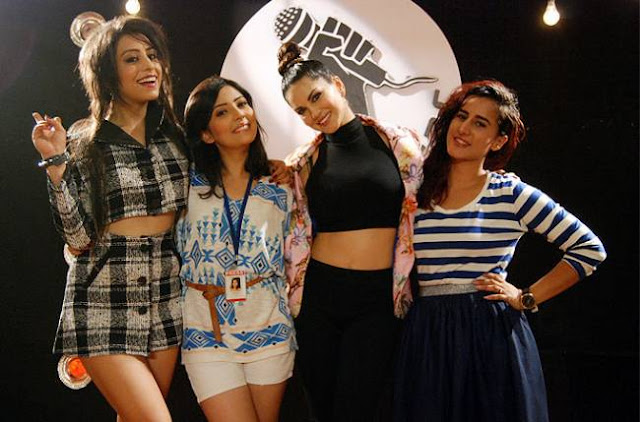 Sunny Leone visited MTV Girls ...