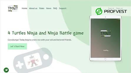 🥇4Turtles.Ninja: обзор и отзывы [Кэшбэк 0,5%]