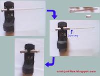 Hasil gambar untuk merakit knalpot korek gas