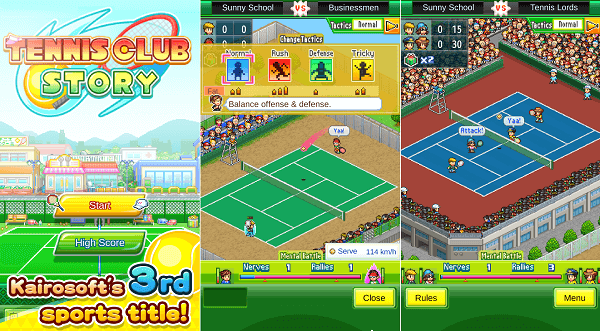 Tennis Club Story v1.1.1 Mod Apk (Mega Mod)1
