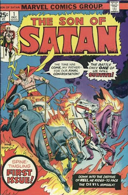 Son of Satan #1, cover