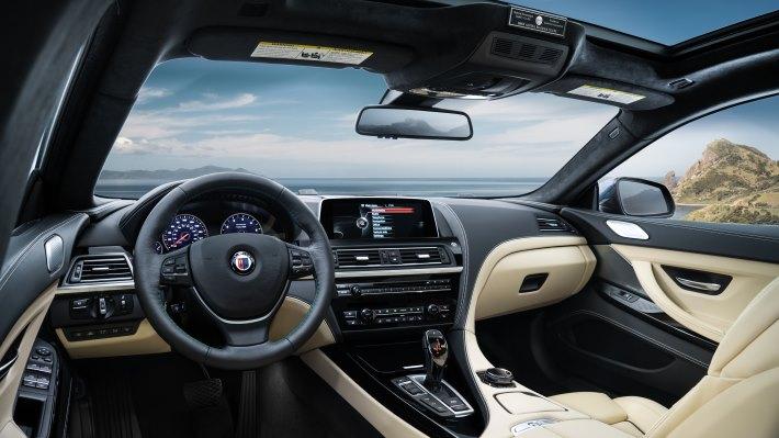 Wallpaper: BMW ALPINA B6 xDrive Gran Coupe (interior)