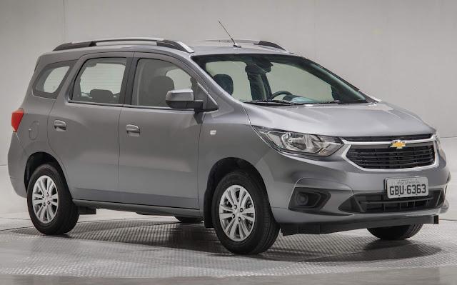 Chevrolet Spin 2019 para PcD chega por R$ 69.990 reais